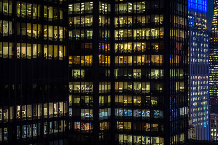 Building Exterior Built Structure Architecture Night Office Business Full Frame Finance Backgrounds Window Glass - Material Modern No People Illuminated Office Building Exterior Building Corporate Business Digital Composite Skyscraper Wealth Apartment Luxury City