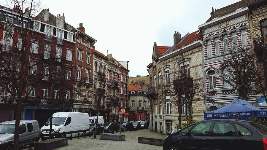 In love with my neighborhood Brussels Saint-Gilles Outandabout Streetphotography Architecture City Street City Street Building Exterior Cityscape Travel Destinations Outdoors