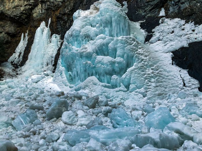 Ice Beauty In Nature Nature Glacier No People Scenics Day Outdoors Landscape