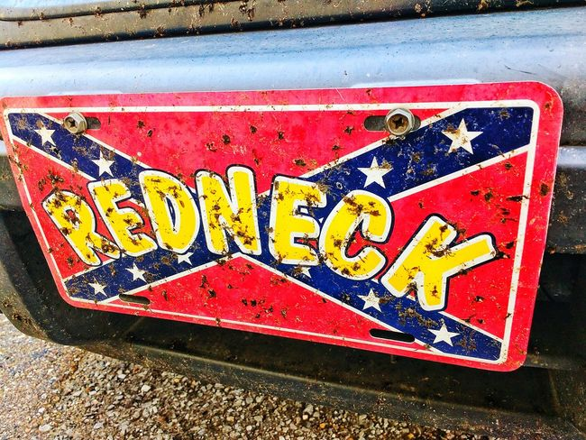 About as Red Neck as you can get! Redneck Red Neck Licence Plate Confederate Flag Bugs Love Bugs