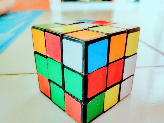Rubix Cube EyeEm Selects Rubix Rubik's Cube Rubix Cube Rubixcube Rubiks Indoors  No People INDONESIA PhonePhotography Phonephotography📱