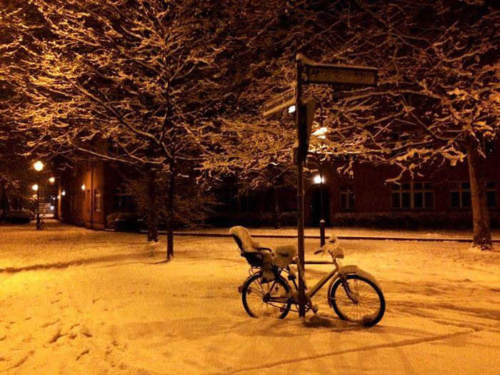 Snow Berlin Streetphotography Enjoying Life