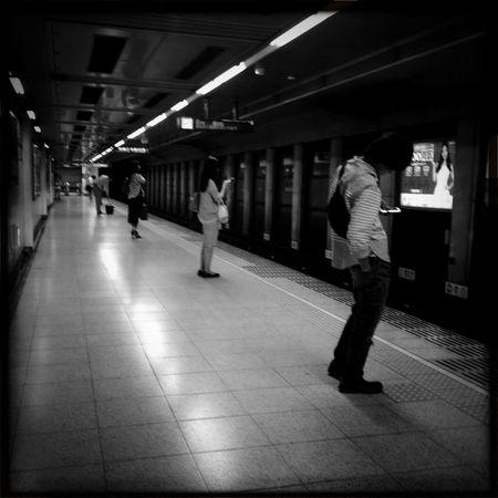 Subway Hipstamatic Blackandwhite Streetphoto_bw