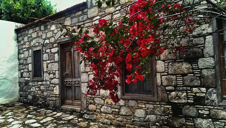 Stone Door House Beauty In Nature Datça Old Town