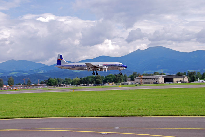 Air Vehicle Airplane Dc 6 Douglas Douglas Dc 6 Flying Landing Plane No People Plane Plane Landing Propeller Airplane Propeller Plane Transportation