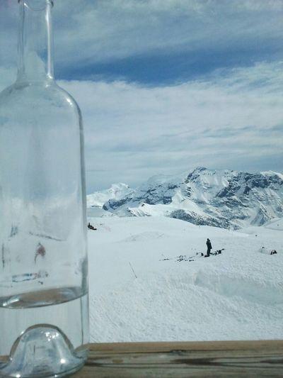 Skiing Mountain Alps Muntanya