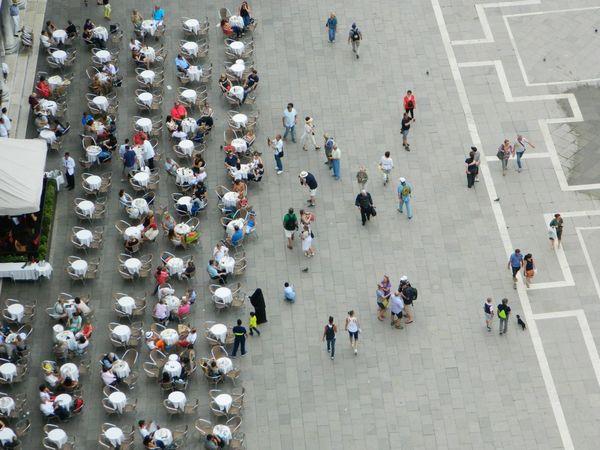 Venezia Venice Tables Streetphotography Aerial Shot Market Bestsellers June 2016 Market Bestsellers July 2016 Bestsellers