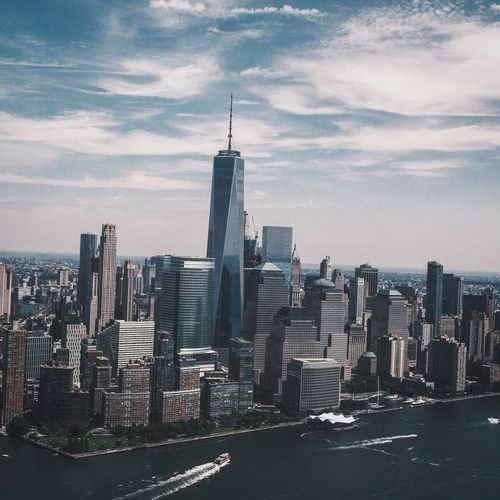 EyeEm Selects NYC Photography Architecture Travel Destinations Sky Cityscape Manhattan Freedom Tower One World Trade Center NYC Hudson River