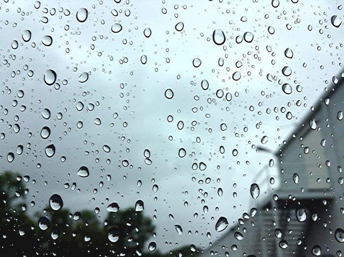 Rain Car Window