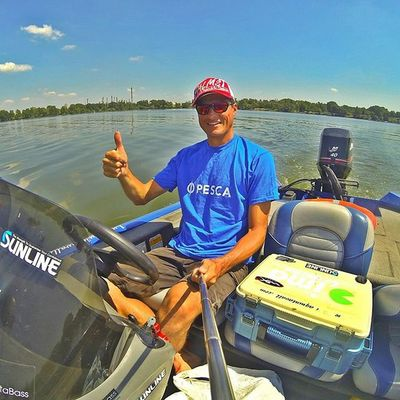 Back in my Office ! Bassfishing Thewaterismystadium Livingstonlures Bluesprings Ecoprotungsten Palms Imabait Imalures Fishing Bass Micropterus Boat