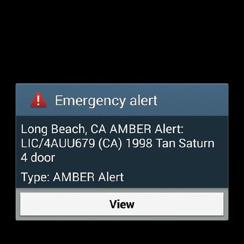 AmberAlert LongBeachCa Notification