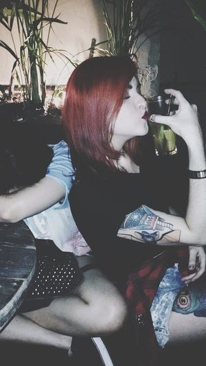 ??? Girl LastNight Friends Redhead