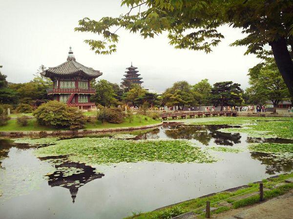 Korean Traditional Architecture Travel Photography South Korea