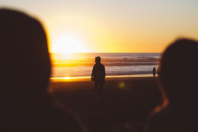 Morning Light Beach Sea