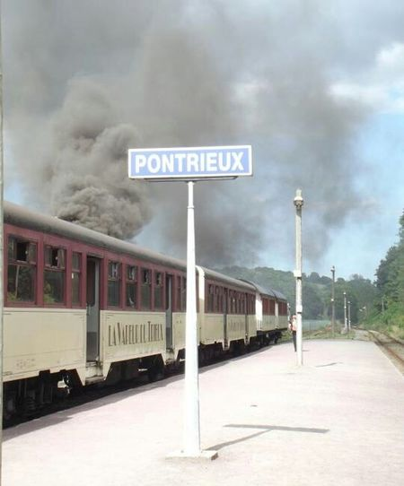Train Train à Vapeur
