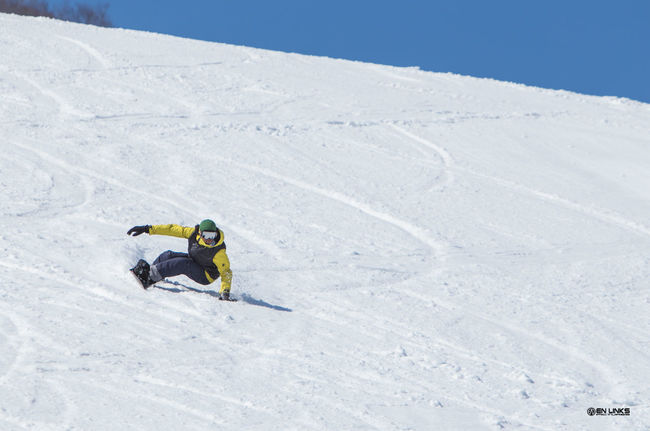ENLINKSPICTURES Snowboarding Blue Sky FUKUSHIMA TheDay Carvingphotograpy