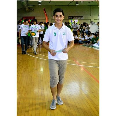 @giodiamante9 ⚽⚽⚽ . . . Uaap77 Animorally Animorally2014 Animo dlsu greenarchers sports sendoff themanansala
