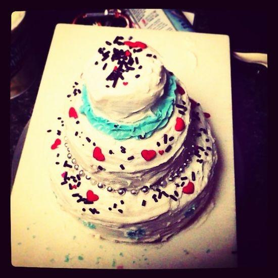3-teir Birthday Cake