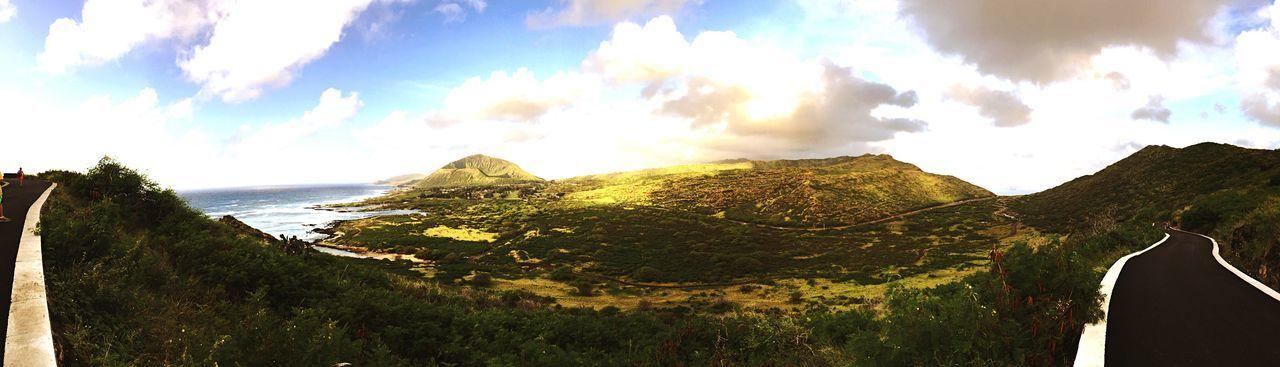 Coastline Hawaii Showcase: December Eye4photography  EyeEm Morning Sky Morning Light Scenics Clouds And Sky Panorama
