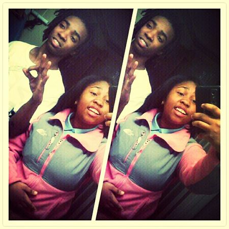 * Me And My Brother <3 thiss old thoo $$$