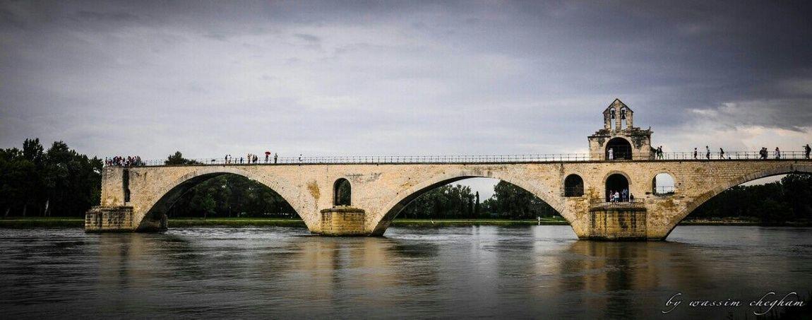 le pont d'Agnion Bridge Bridges_aroundtheworld Old Bridge Avignon Avignon City Avignon Bridge Architecture_collection Awesome Architecture Ancient Architecture