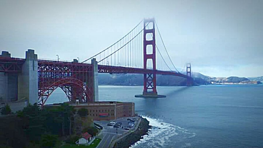 Mountains And Water Golden Gate Bridge Pillars In The Water Bridge Porn Sky Porn Bay Area, Ca San Francisco Bay San Francisco Cloud - Sky Rocks And Water Pacific Ocean Check This Out Highway 1 Taking Photos Tourist Destination This Week On Eyeem My Photography My Point Of View Nature Fogscape The Architect - 2016 EyeEm Awards