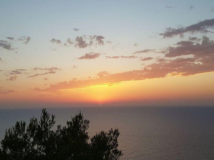 La última Luz Del Día Colores Del Verano Sunset_collection Mediterranean  EyeEm Gallery Seacollection