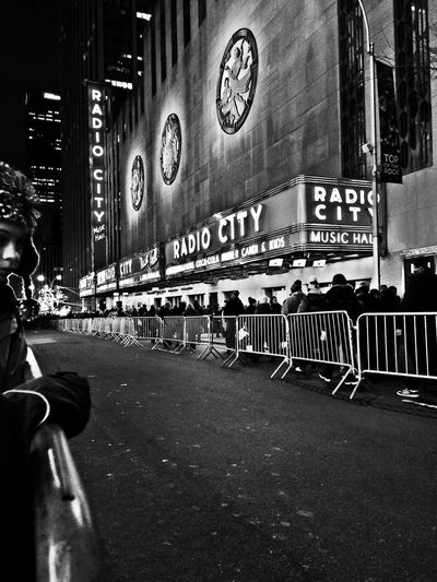 Welcome To Black City Text Real People Outdoors Large Group Of People Men Architecture Crowd People Tadaa Community Blackandwhite Urbanphotography New York City
