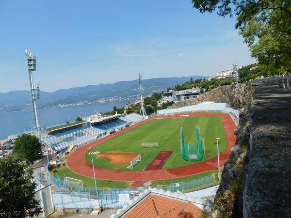 Stadium Football Stadium Sea Seaside Adriatic Sea RIJEKACRNOJEVICA Croatia