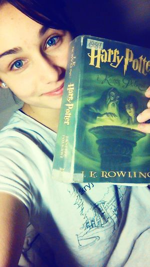 Harry Potter 💜 half blood prince 😭😭😭 Harrypotter Slytherin Pride Dracomalfoy Halfbloodprince Check This Out That's Me Polishgirl EyeEm Reading Books