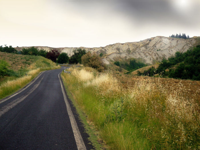 Beauty In Nature Diminishing Perspective Gloomy Day Landscape_photography Non-urban Scene On The Road Outdoors Remote Road Scenics Solitary Place Solitude The Way Forward An Eye For Travel