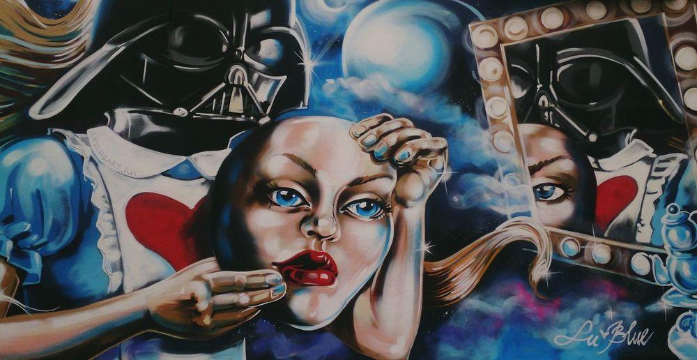 Маска, кто ты? арт  Граффити Art Graffiti Creativity