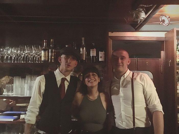 Adult Men Night Group Of People Business Event Bar - Drink Establishment