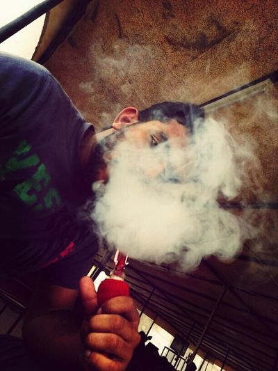 smoke.....Hi! Enjoying Life Hello World