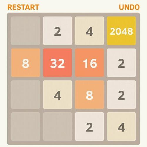 Wahooo ?. 2048 Won Done