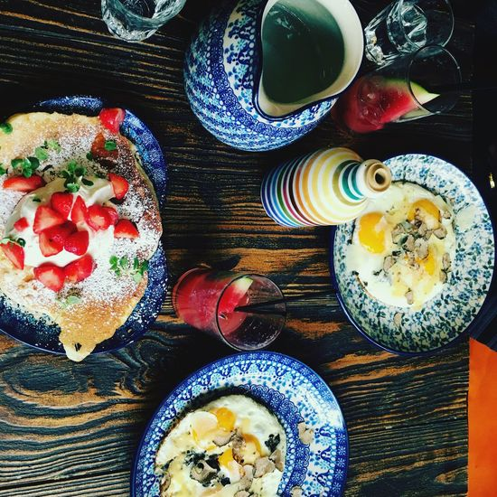 Breakfast paris biglove citytrip pancakes eggs truffles Ready-to-eat
