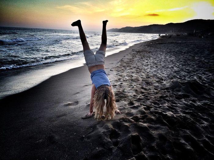 Sunset Beach Shootermag The Great Outdoors - 2015 EyeEm Awards The Moment - 2015 EyeEm Awards