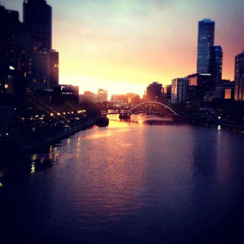 Melbourne City The Explorer - 2014 EyeEm Awards Swanston St #Melbourne IPhone
