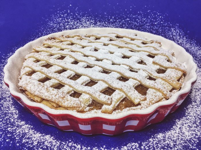 Close-Up Of Sweet Pie