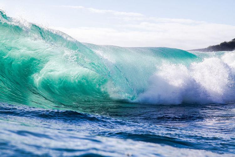 Blue Outdoors Wavephotography Wave Iiquid Water Sea