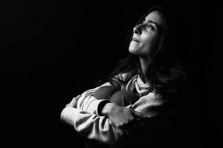 Black And White Black & White Blackandwhite Photography Portrait Dramatic Light Dramatic Hopefull