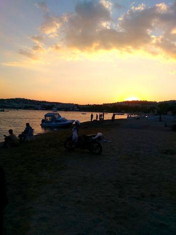 Beach Sea Sunset Nature Sky Outdoors Landscape Bodrum Bodrum, Turkey Holidays Bodrum_turgutreis