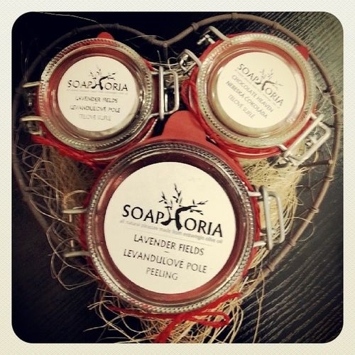 Soaphoria Sufle  Peeling Handmade slovenskakozmetika slovakcosmetics biobeautysk vonave levandula cokolada