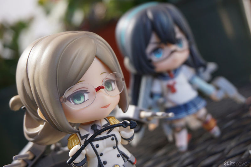 Megane Duo Glasses Katori Ooyodo Close-up Nendoroid ねんどろいど Toyphotography 艦隊これくしょん Kantaicollection 艦コレ Kancolle Outdoor Photography Still Life Anime Cute Creativity Outdoors