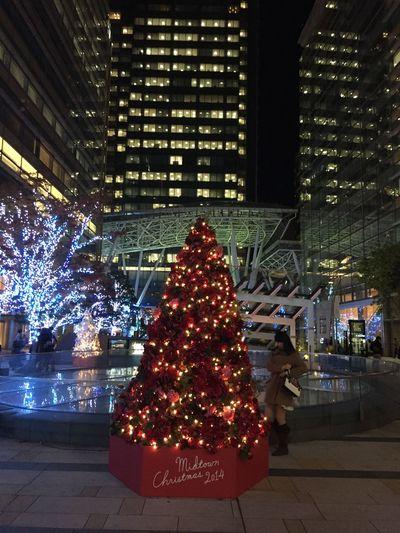 IPhoneography Urbanphotography Christmas Tree Xmas Tree Xmas Tokyomidtown Roppongi Xmasdecorations