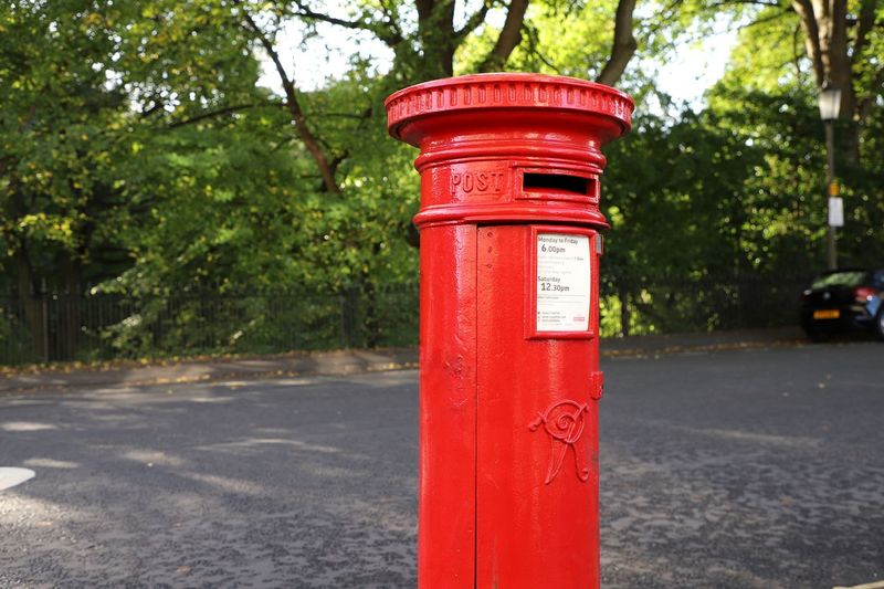 Royal Mail red