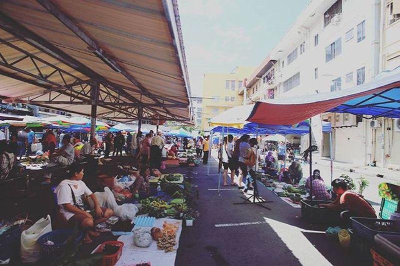 View of Gaya Street Gaya Street - Kota Kinabalu , Sabah Gayastreet Kotakinabalu Sabah Negeribawahbayu Tourism Malaysia Reflexsology Market Pasar Vscomalaysia Vscography VSCO Fresh Fruit Vegetable