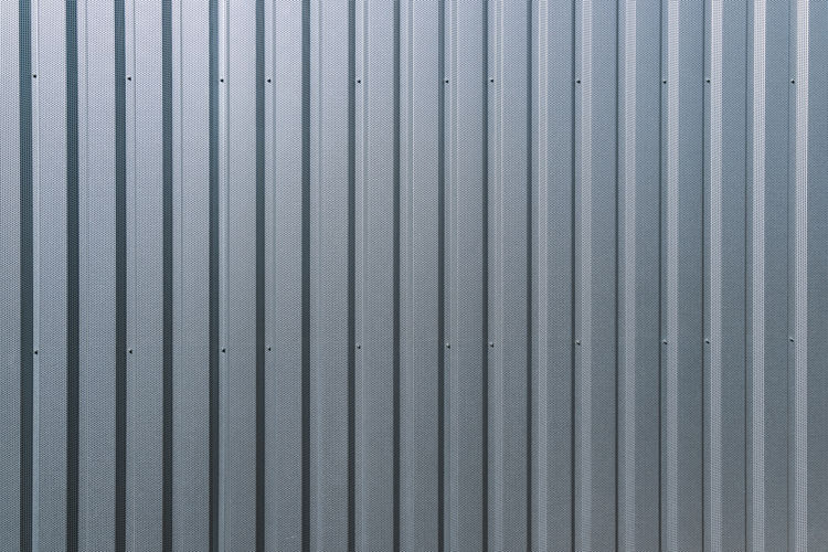 aluminum metal wall background textrure Light Aluminum Architecture Background Background Texture Backgrounds Built Structure Close-up Corrugated Corrugated Iron Garage Gray Iron Metal Mettalic Pattern Protection Safety Security Silver  Silver - Metal Silver Colored Steel Textured  Wall - Building Feature