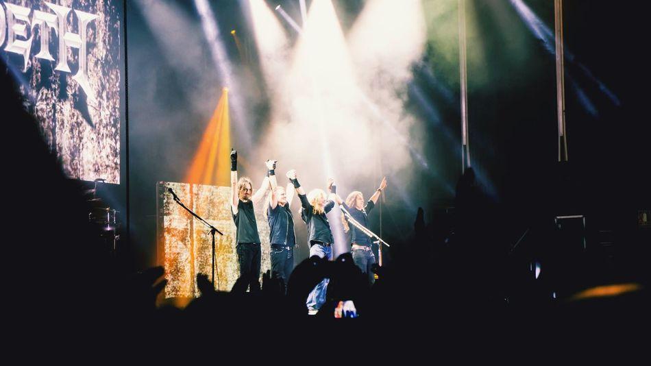 EyeEm Selects Music Popular Music Concert Arts Culture And Entertainment Musician Performance Performance Group Megadeth Trashmetal Metalupyourass Leyendasdelrock Festival Musicfestival EyeEmNewHere SPAIN Rock Music