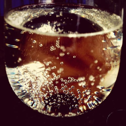 White wine spritzer! needed.. today... an interesting day.... cheers!
